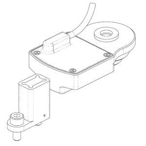 Race-Car-Rear-Suspension-Rocker-Position-Sensor